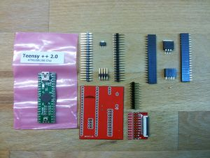Teensy adapter Board for NANDway - what you need